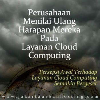 Efisiensi biaya adalah alasan awal perusahaan berpindah ke layanan cloud computing. Akan tetapi saat ini kondisi tersebut makin bergeser dari persepsi awal.