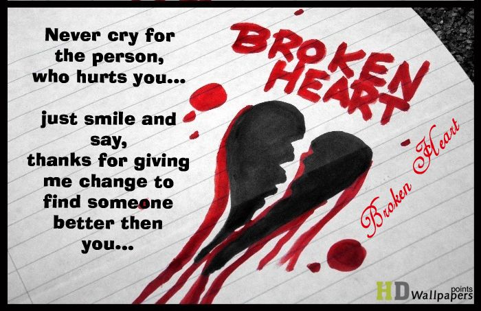 Broken Heart Status for WhatsApp Status - WittyStory