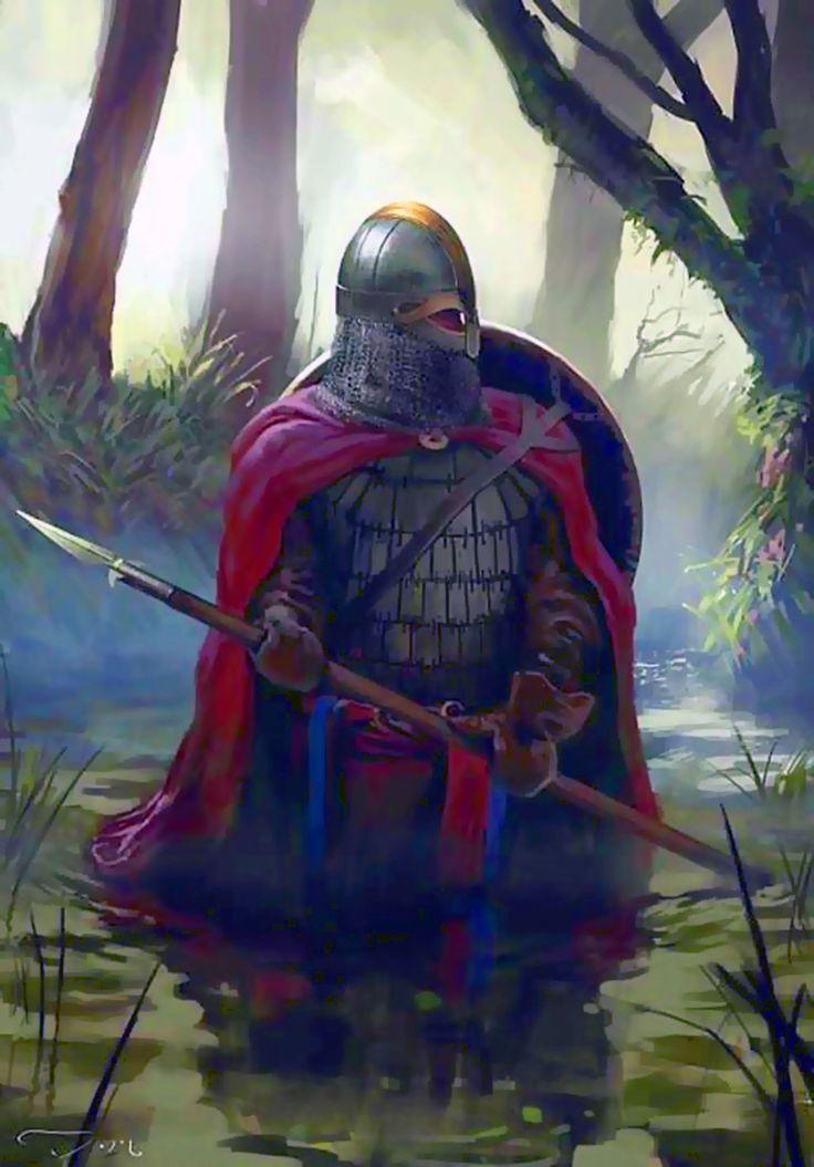 Viking Warrior In France