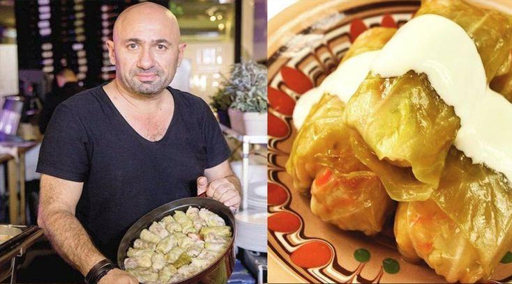 Chef Scărlătescu a dezvăluit rețeta sa de sarmale. Iată ingredientul care face diferența - dr. Andrei Laslău
