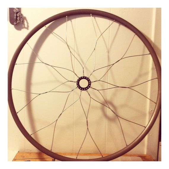 Bicycle mandala wall art bike wheel home by for Bicycle wheel wall art