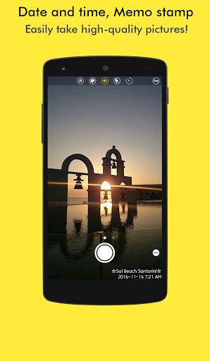 SnapTime - SilentㆍSquareㆍStamp Camera v2.23 [Pro]   SnapTime - SilentㆍSquareㆍStamp Camera v2.23 [Pro] Requirements:4.4 Overview:Built-in all the functions of the camera for recording memories and sharing moments insert time stamps places memos or QR code into the pictures and easily take square pictures for SNS or Blogs such as WhatsApp Facebook Instagram.  Features: Insert time stamps places and memo or short story in pictures with QR code!  Easily take square pictures for SNS or Blogs such…