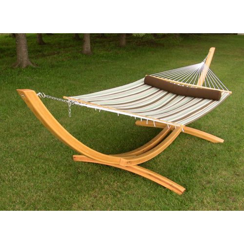 Vivere Quilted Fabric Double Hammock.....Serenity