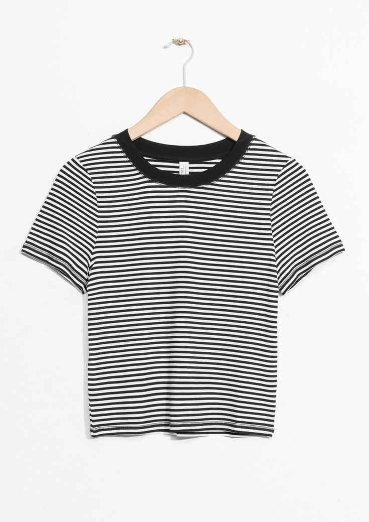 & Other Stories image 1 of Stripe Top in Striped