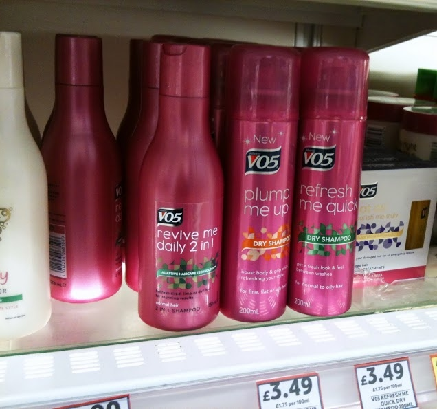 Stop the fade - VO5 dry shampoo | This Enchanted Pixie // #cbias