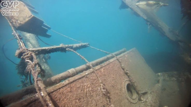 "Underwater Videos by CVP: ""Notos"" traditional sailboat shipwreck in Salamis [Photos & Video]"