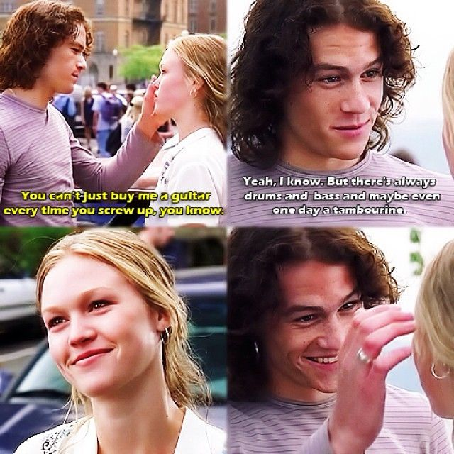 10 Things I Hate About You #HeathLedgerSmile #makinmyheartmelt