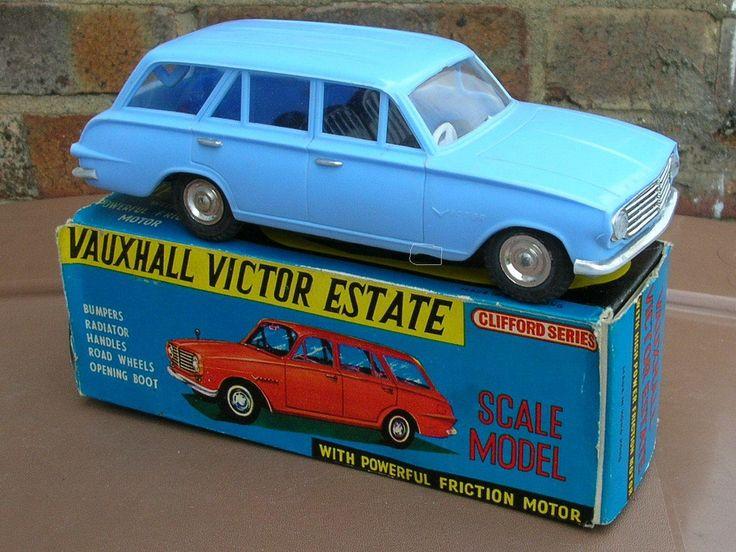 Vintage Clifford Series Plastic Vauxhall Victor Estate Car Retro 1960's Toy