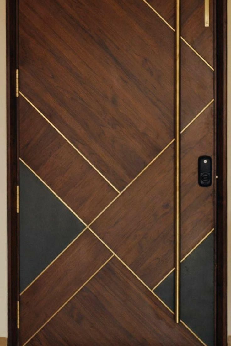 Design House Bedroom Bedroom Furniture Wood Stain Brown In 2020 Wooden Door Entrance Doors Interior Modern Modern Wooden Doors