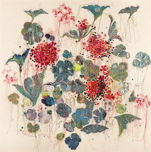 Louise Gardiner, colour and stitch inspiration