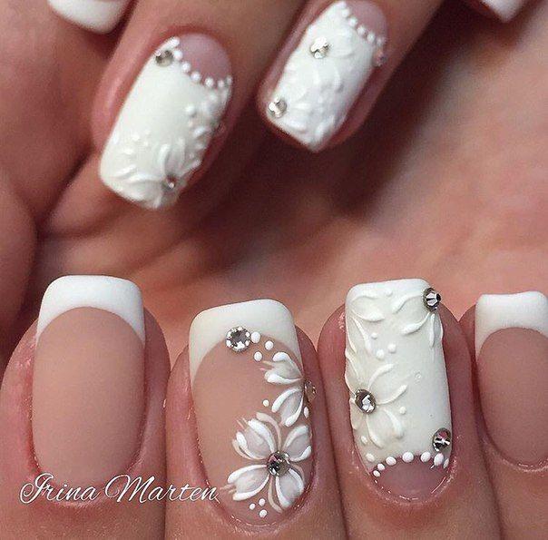 Свадебный ногти