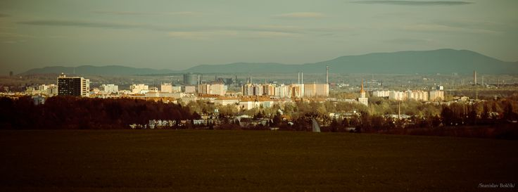 Ostrava from Vresina