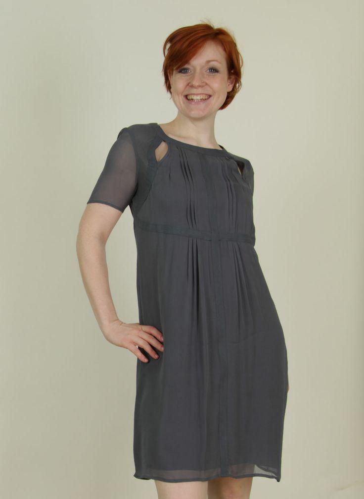 Noa Noa - Frühling - Kleid, Celeng Crepe, turbulence - ey Linda Online Shop