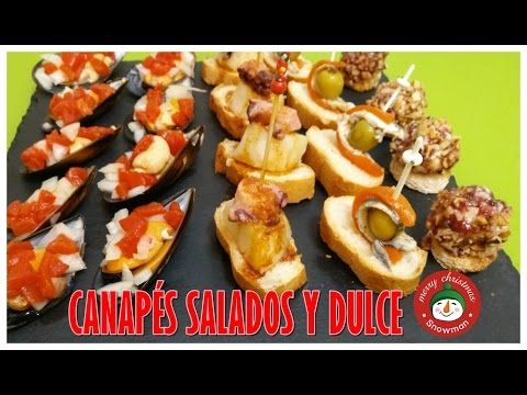 201 best images about cocina on pinterest pastel tes for Canapes faciles y ricos