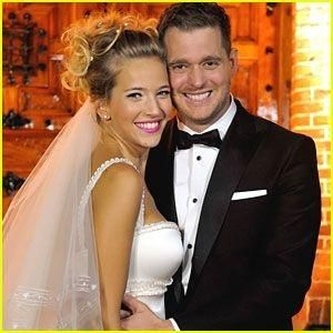 Michael Buble & wife Luisana Lopilato. by ernestine