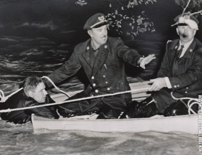 Hurricane Hazel Victim Rescued By Toronto Harbour Police 1954