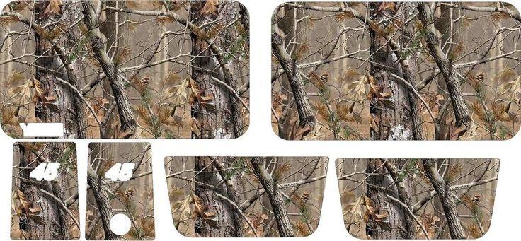 YETI 45 Qt cooler CAMO KIT Real Tree AP pattern