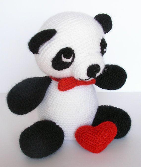 Panda Amigurumi Kawaii : 17 Best images about amigurumi panda, koala & racoons on ...