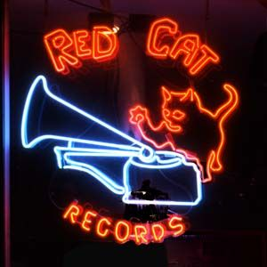 Red Cat Records 4307 Main Street New and used cds and vinyl records