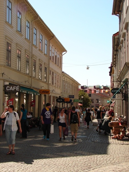 Haga - a small, relaxing and pittoresque quarter in Gothenburg. Don't hesitate to drop in to one of the small cafés, they're simply astonishing!