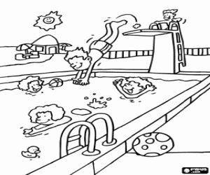 Water Sports coloring pages printable games