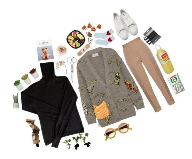"""cross your fingers"" by hwinter451 ❤ liked on Polyvore featuring CÉLINE, Christopher Kane, Fiskars, Bottega Veneta, Sia, Acne Studios, Threshold, Topshop, sOUP and Cara"