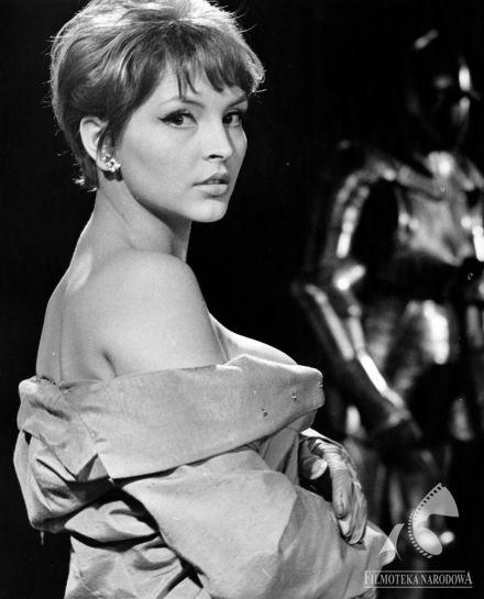 """Teresa Tuszyńska in """"Cała naprzód"""" - dir. Stanisław Lenartowicz (1966)."""