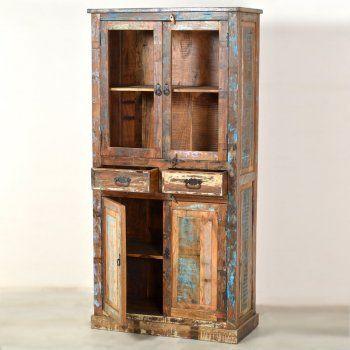 Als je ervan houdt is het wel leuk.Deze kast is gemaakt van sloophout.Hij valt wel erg op.