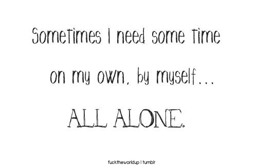 When+All+Is+Lost+Quotes | all alone, quotes, tumblr