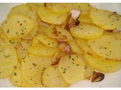 Cocina rapida Receta Patatas al horno