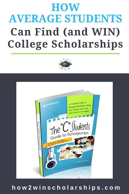 Scholarships For College Students >> How Average Students Can Find College Scholarships