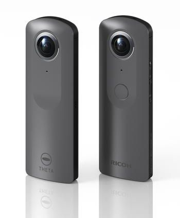 Ricoh would like to announce that we will be showcasing a sample camera of the newest model, which shoots high resolution 4K video in 360°, of the RICOHTHETA series that shoots 360° images in one shot at the NAB Show 2017 held by the National Association of Broadcasters (NAB) in Las Vegas, USA from April 22 to 27.