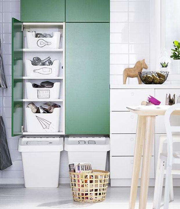 16 best Recycling system images on Pinterest Recycling, Kitchen - ikea küche katalog