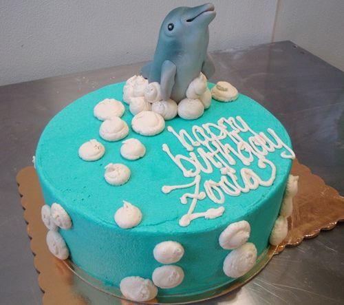 Best 25+ Dolphin Birthday Cakes Ideas On Pinterest