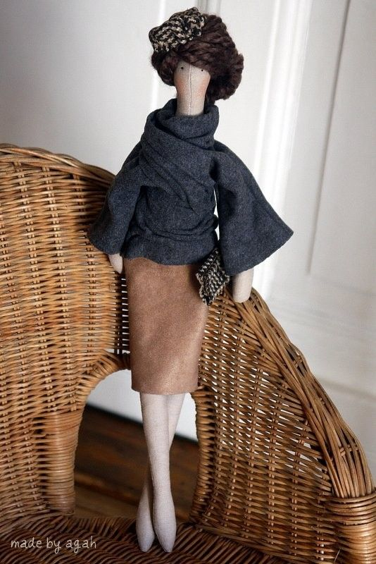 Custom OOAK Fabric Doll Made To Order For The Bride by madebyagah