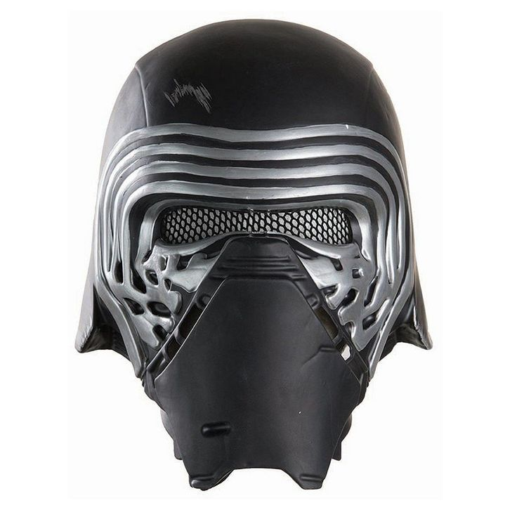 Star Wars: Episode VII The Force Awakens Kylo Ren Kids Costume Half Helmet, Boy's, Multicolor