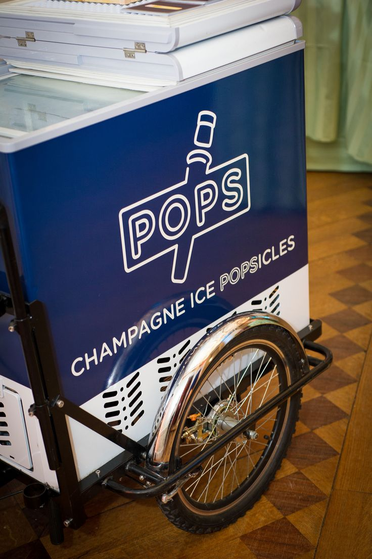 Champagne Popsicles by Pops at Victorian townhouse Kent House Knightsbridge showcase event
