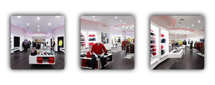 Дизайн магазина. Сочетание фирменного стиля и яркости для модного представителя fashion-индустрии