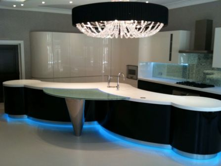 The use of light can transform a #design...