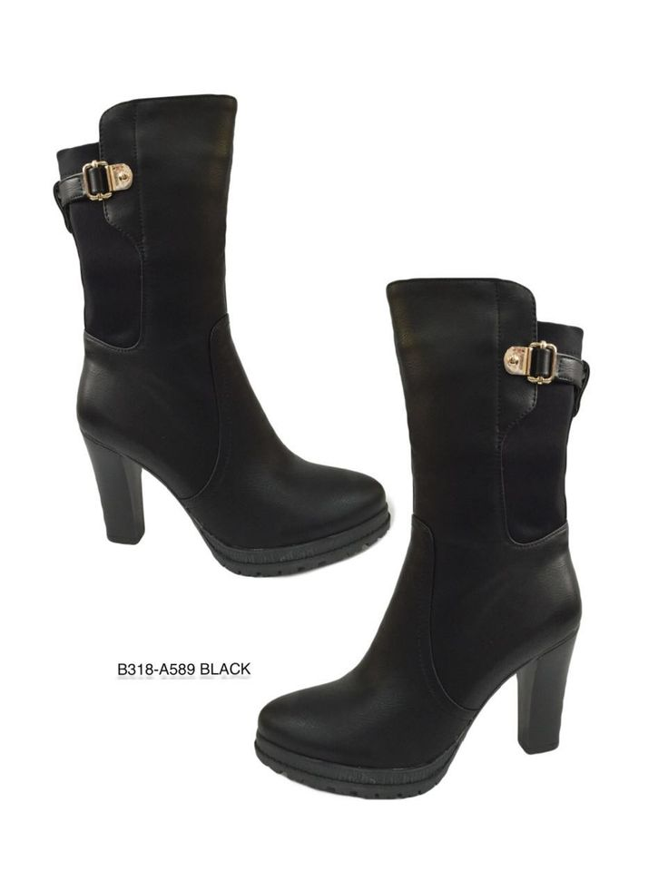 #Botas caña media Disponible en talla 36 a 40. Pedidos al 311 831 4735 más información en: https://www.facebook.com/ventasboutiqued2/