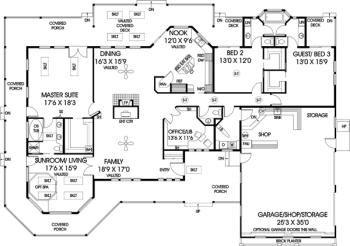 122 best house plans images on pinterest floor plans for Monster mansion mobile home floor plan