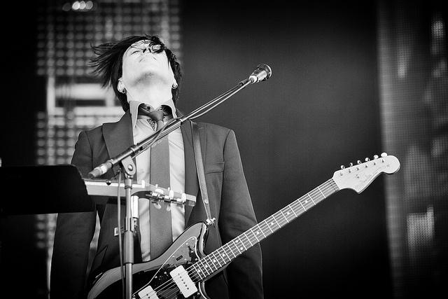 Troy van Leeuwen at Pinkpop by 3FM, via Flickr