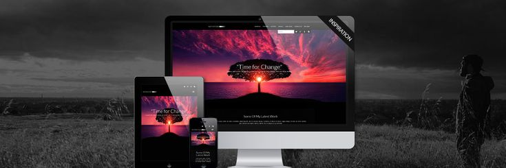 Responsive #Joomla #Template #webdesign. Time for some Inspiration. Bringing you an all new look for your Joomla website. Inspirations fullscreen feature allows you to load an image of your choice to give your site that cool new look to attract your visitors.