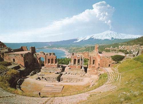 Teatro antico-Taormina