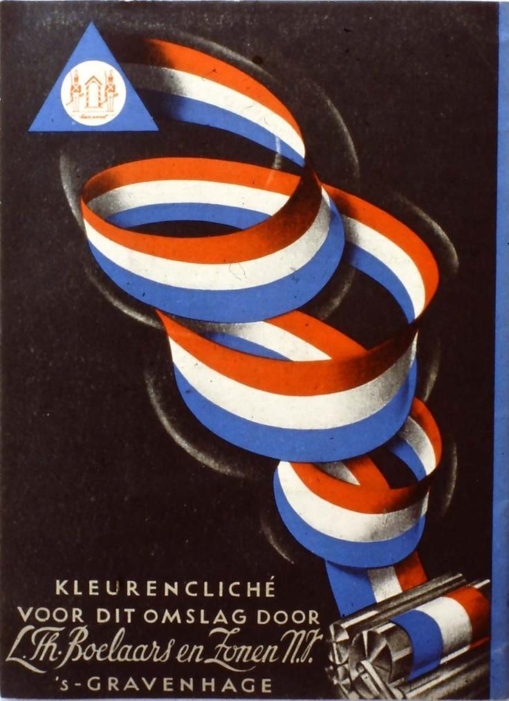Dutch 50s magazine cover.