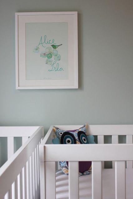 Mint Green Kids Room
