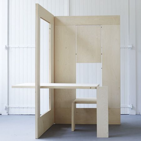 collapsible workspace