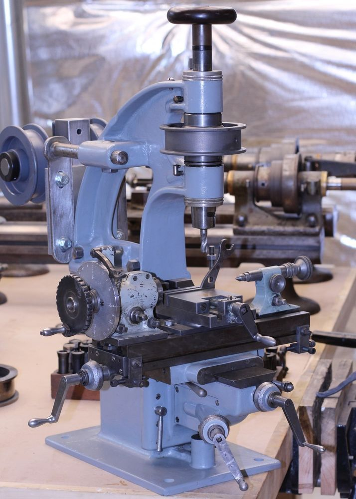 Hardinge cataract vertical milling machine in Business & Industrial | eBay