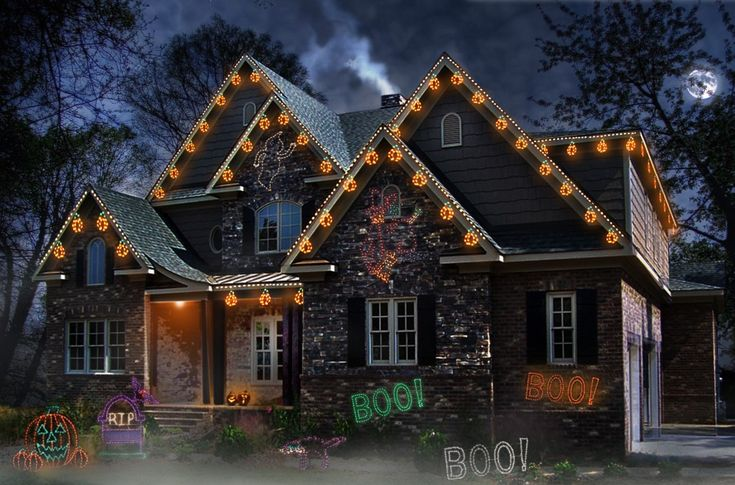 107 best images about Halloween Lights on Pinterest