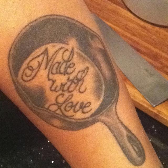 cast iron skillet tattoo tattoo pinterest skillets